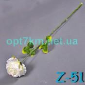 Z - 51 роза атлас на ножке